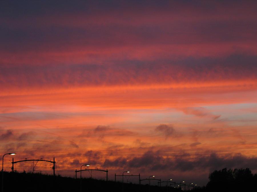 Sunset Reeshof Photograph