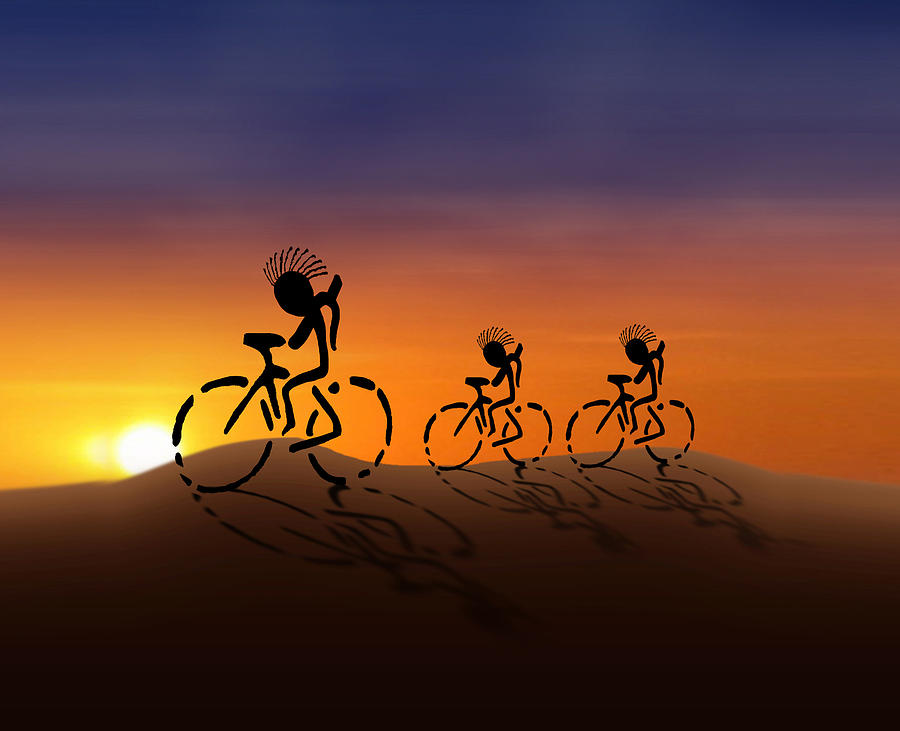 Sunset Riders Digital Art