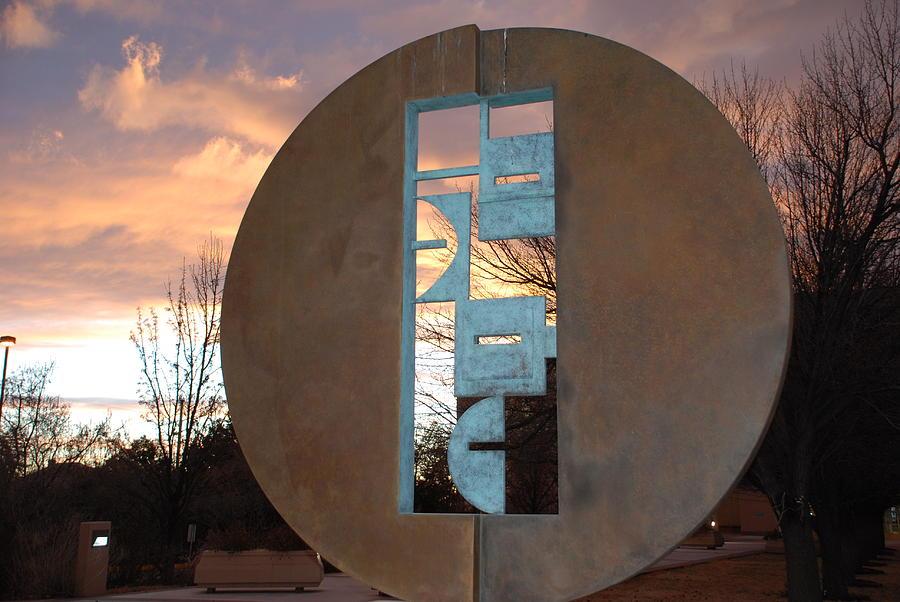 Sunset Thru Art Photograph