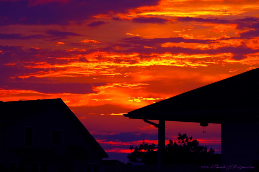 Sunset Va 4736 Photograph  - Sunset Va 4736 Fine Art Print