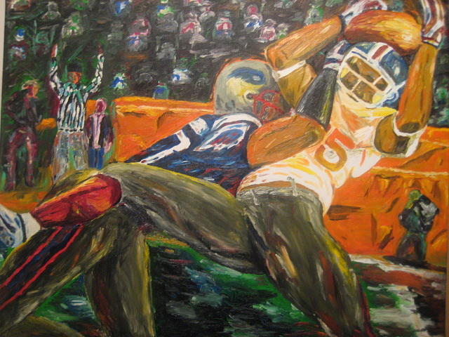 Super Bowl Xlii Painting