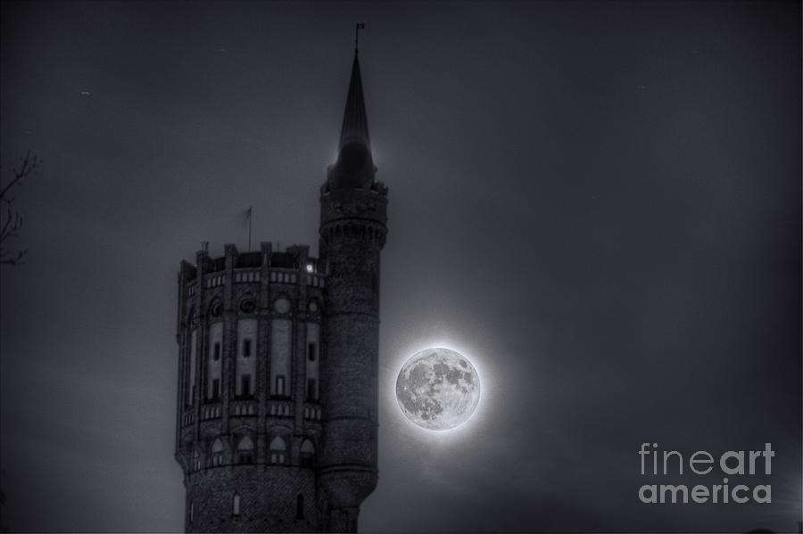 Super Moon Photograph  - Super Moon Fine Art Print