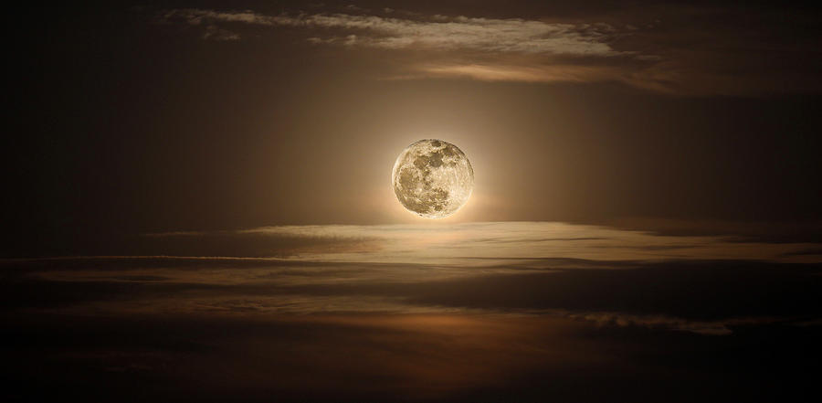 Super Moon Of 2012 Photograph