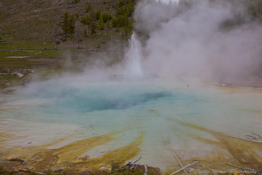 Superior Geyser 1 Photograph