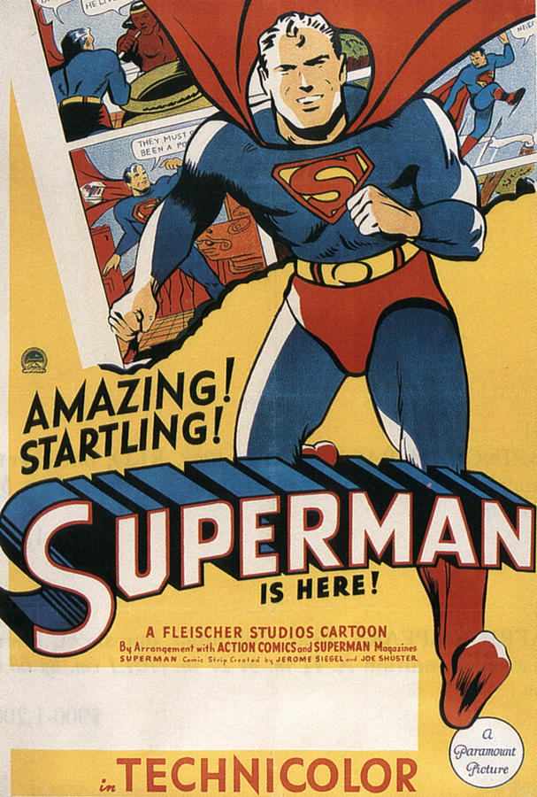 Superman, 1941 Photograph