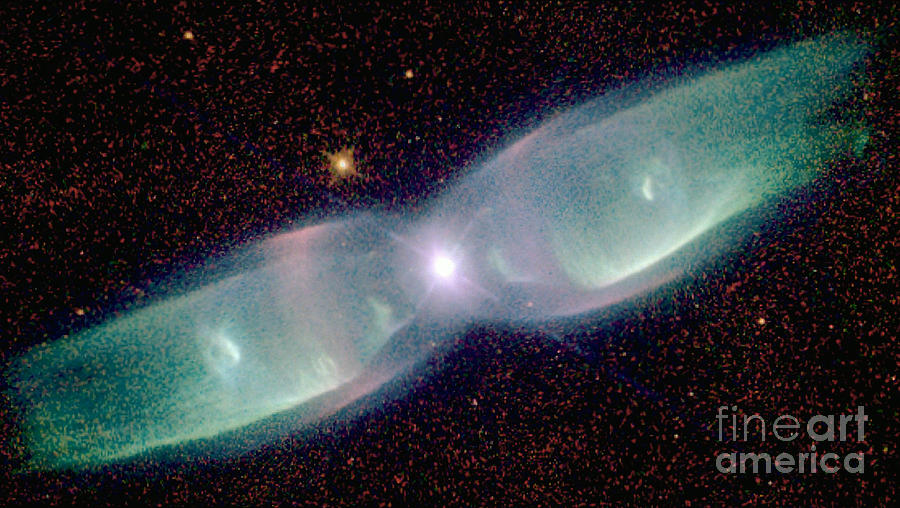 Supersonic Exhaust From Nebula Photograph