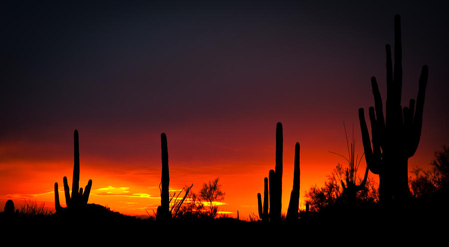 Superstitious Sunset Photograph
