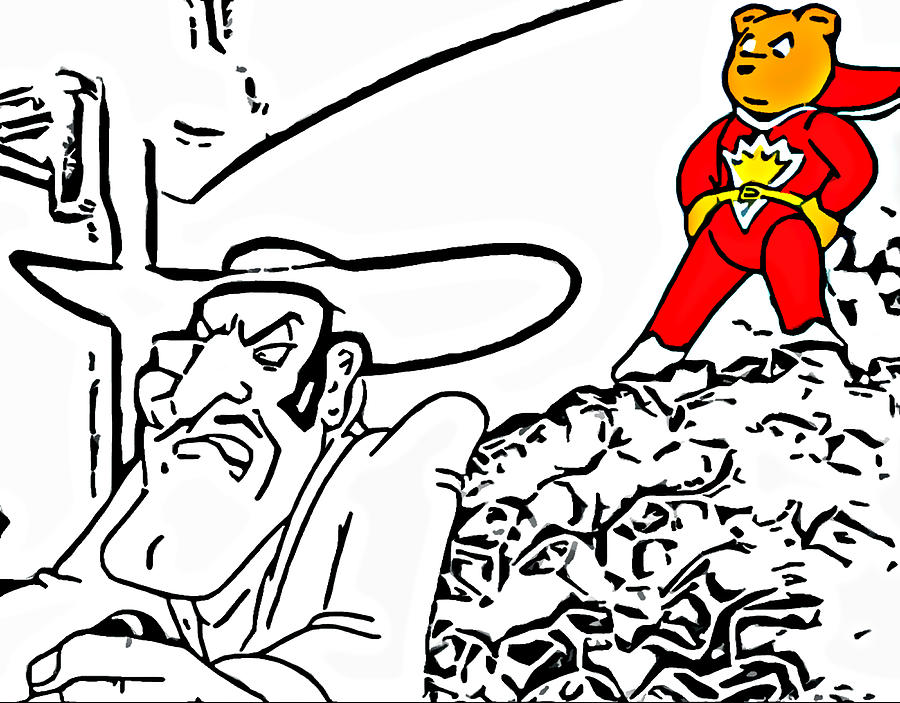 Superted And Texas Pete Digital Art
