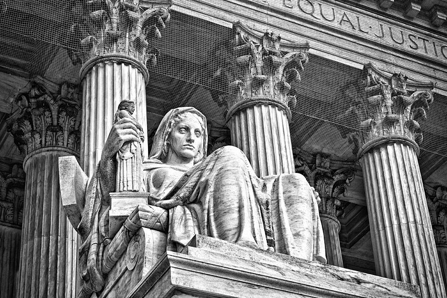 Supreme Court Building 15 Photograph  - Supreme Court Building 15 Fine Art Print
