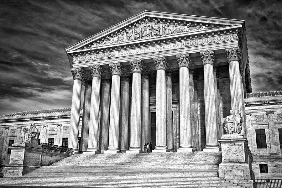 Supreme Court Building 2 Photograph  - Supreme Court Building 2 Fine Art Print