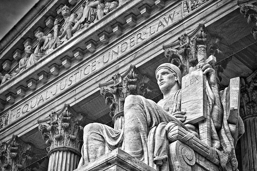Black Russian Photograph - Supreme Court Building 22 by Val Black Russian Tourchin