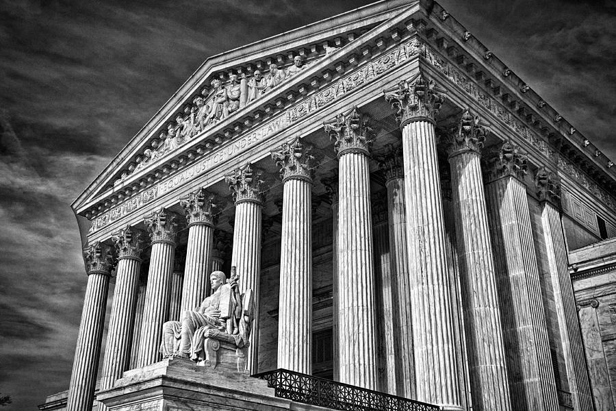 Supreme Court Building 5 Photograph  - Supreme Court Building 5 Fine Art Print
