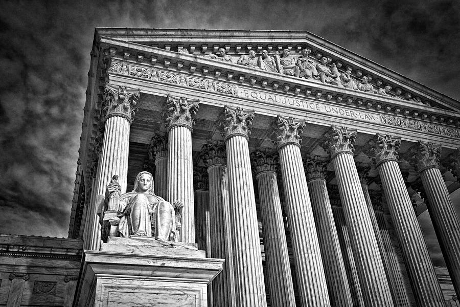 Supreme Court Building 6 Photograph  - Supreme Court Building 6 Fine Art Print