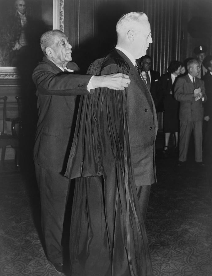 Supreme Court Chief Justice Earl Photograph