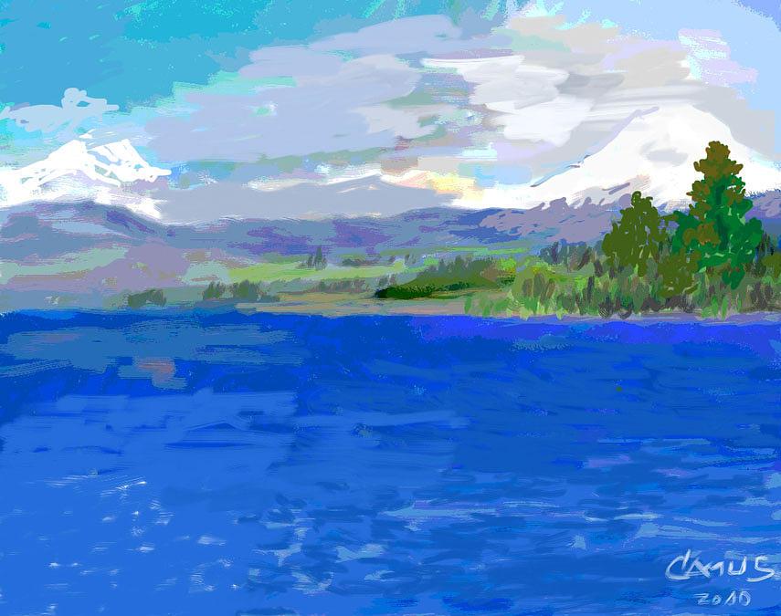 Sur De Chile Encanto Painting