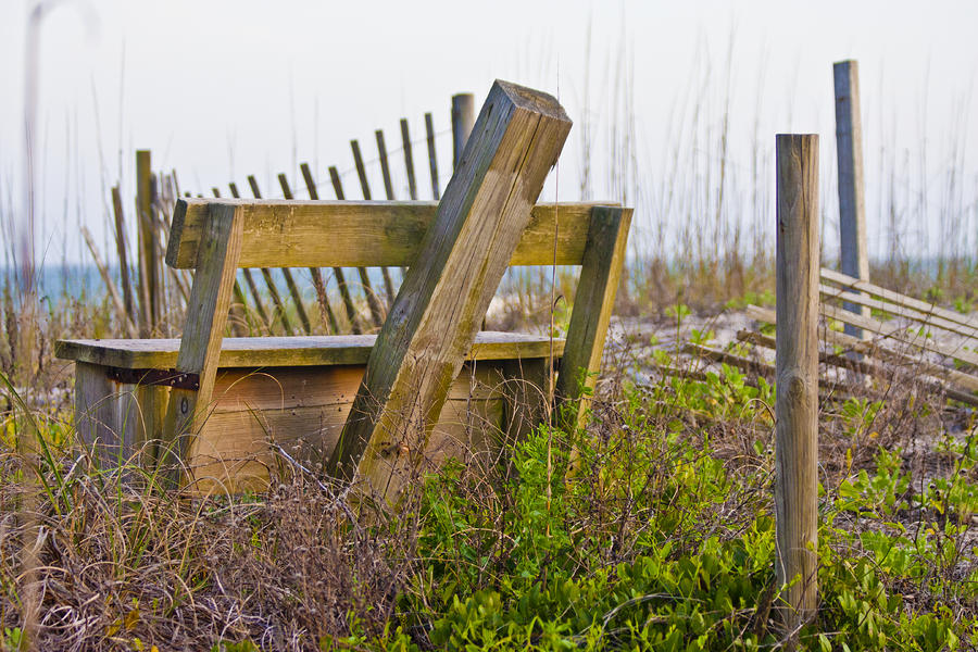 Surf City Chair Photograph