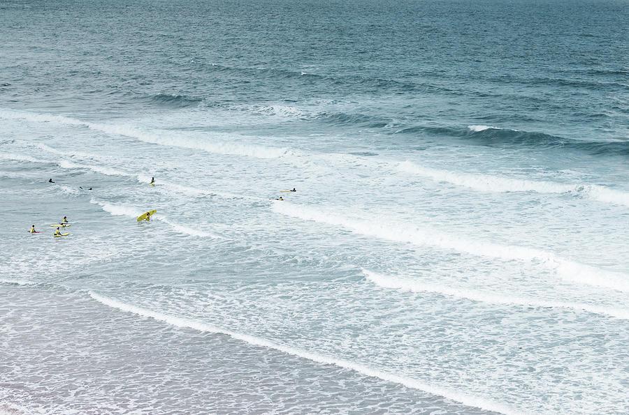 Surf Lesson Photograph