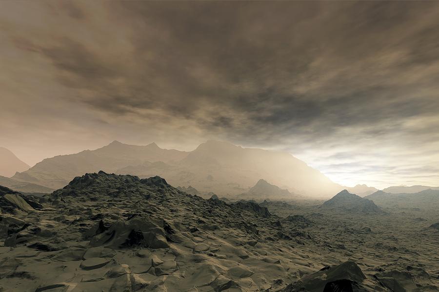 Surface Of Venus, Artwork Photograph