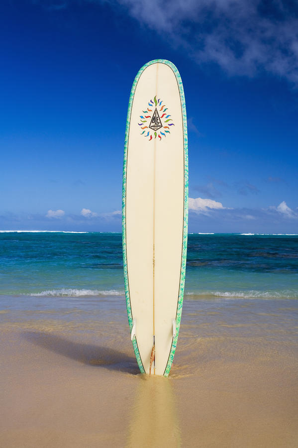 Surfboard Photograph  - Surfboard Fine Art Print