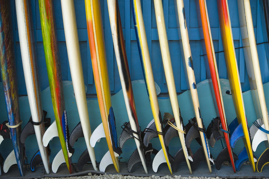 Surfboards Photograph  - Surfboards Fine Art Print
