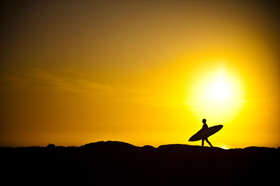 Surfers Dawn Photograph