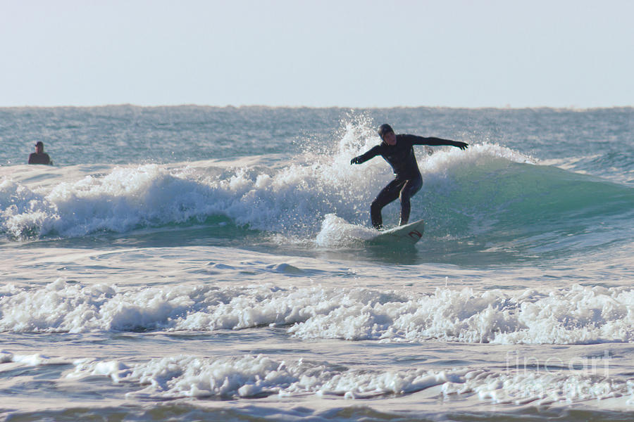 Cornish Seascapes Photograph - Surfing The Atlantic by Brian Roscorla