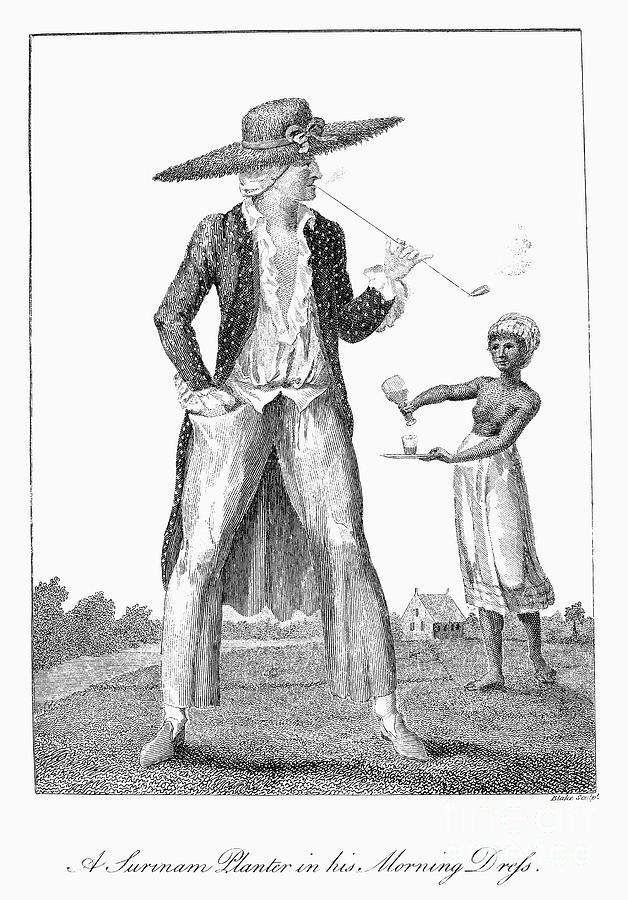 Surinam: Slave Owner, 1796 Photograph