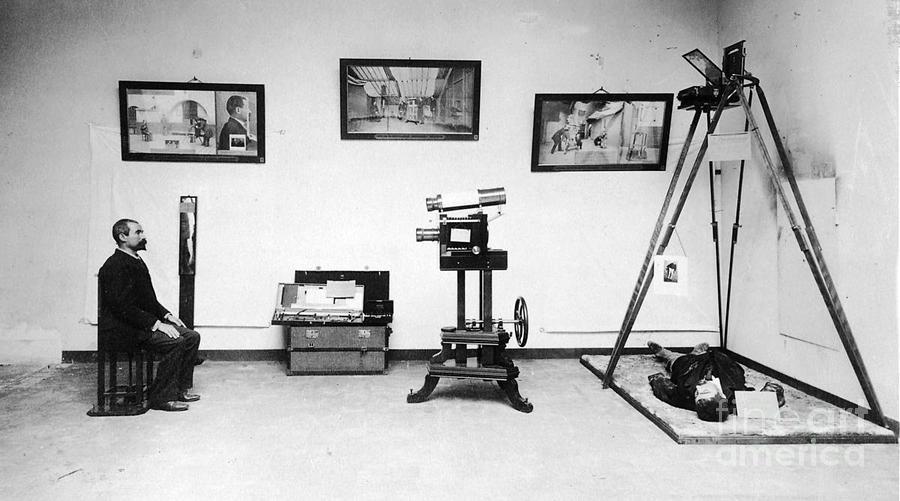 Surveillance Equipment, 19th Century Photograph