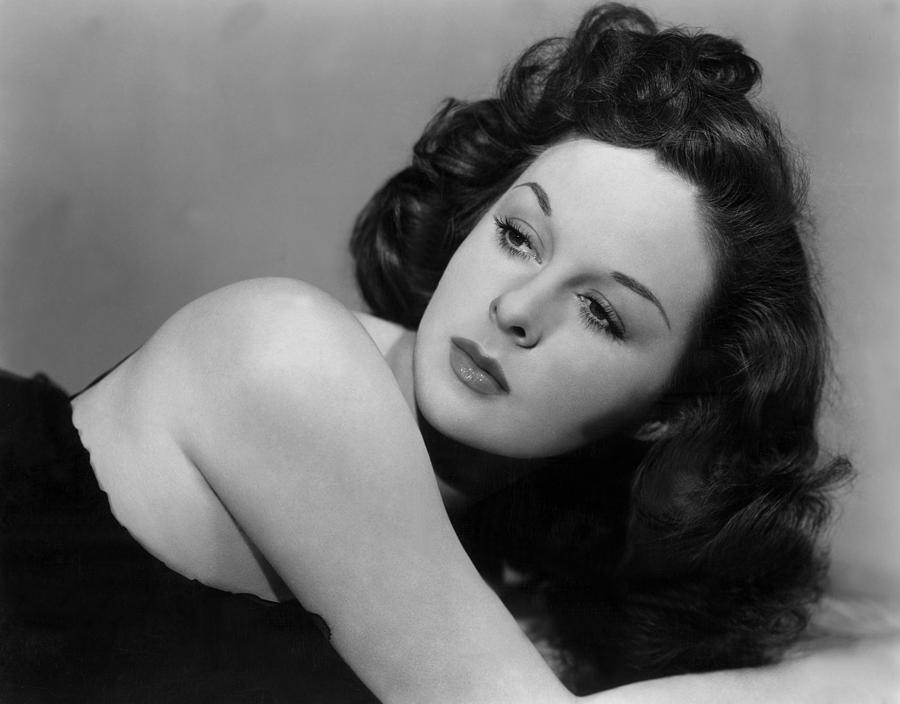 Susan Hayward, Portrait, Circa 1942 Photograph