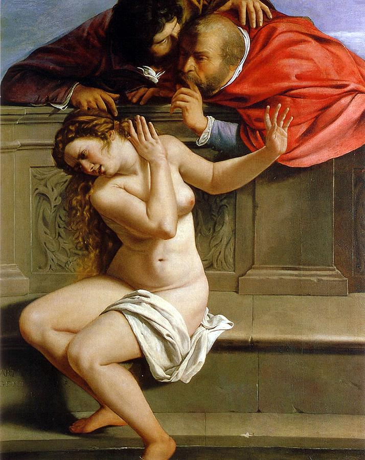 Susannah And The Elders Painting