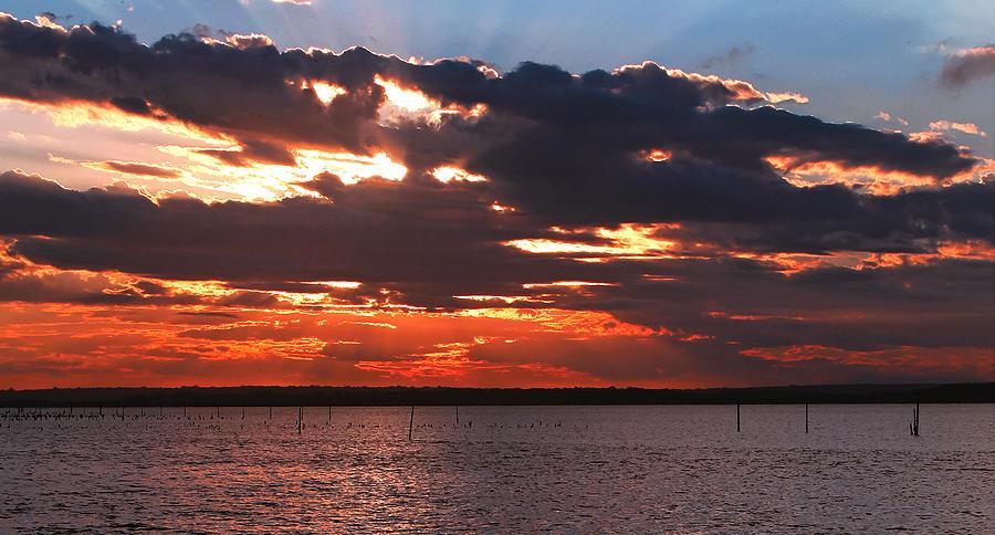 Swan Bay Sunset Photograph