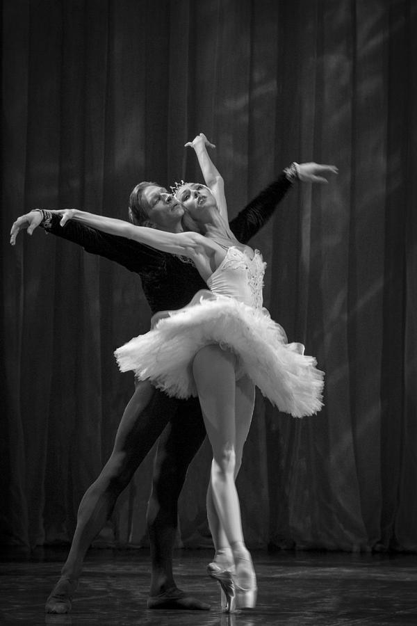 Hermitage Photograph - Swan Lake  White Adagio  Russia 2 by Clare Bambers