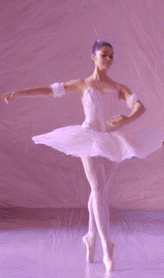 Sweet Ballerina Painting