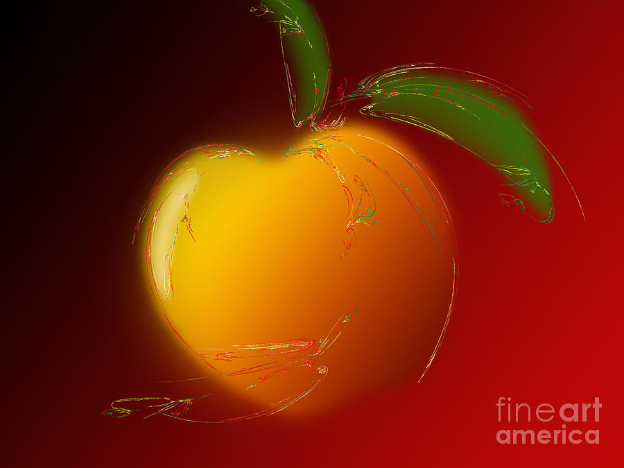 Sweet Peach 1 Digital Art