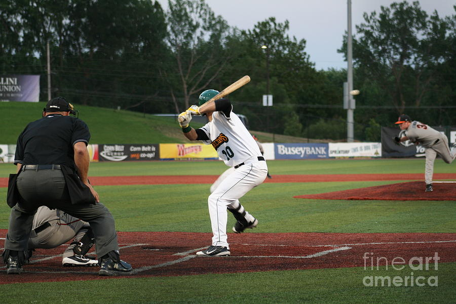 Batter Photograph - Swing Batter by Roger Look