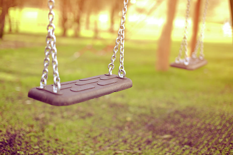 Swings In Park Photograph
