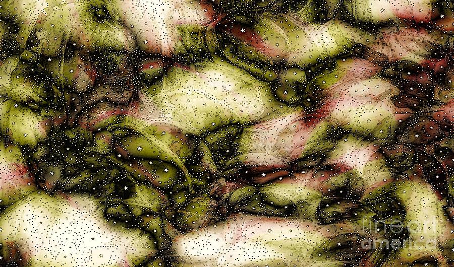 Swirling Shapes Digital Art