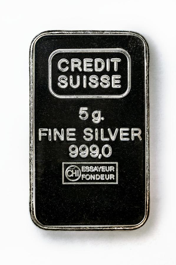 Swiss Silver Bar Photograph