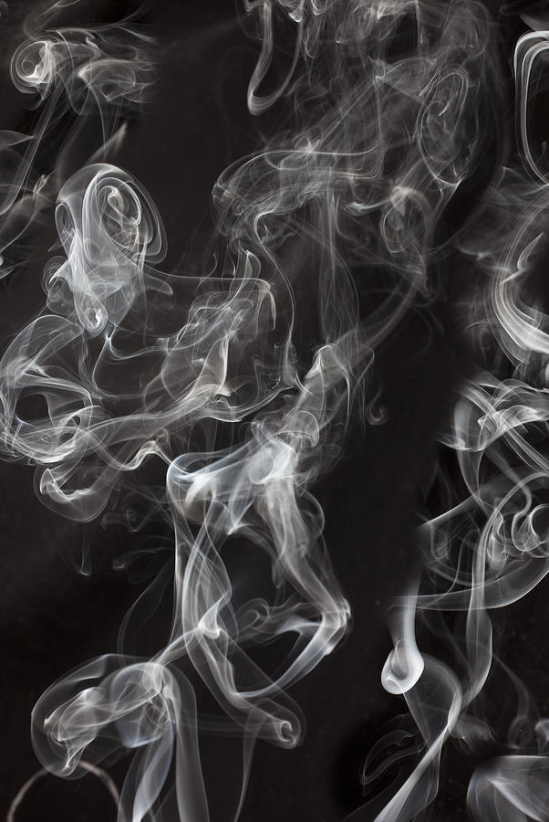 Swriling Smoke  Photograph