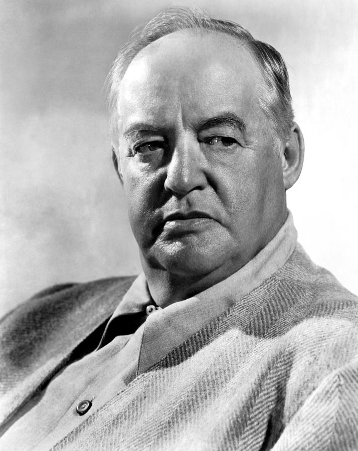 Sydney Greenstreet, Ca. Late 1940s Photograph by Everett