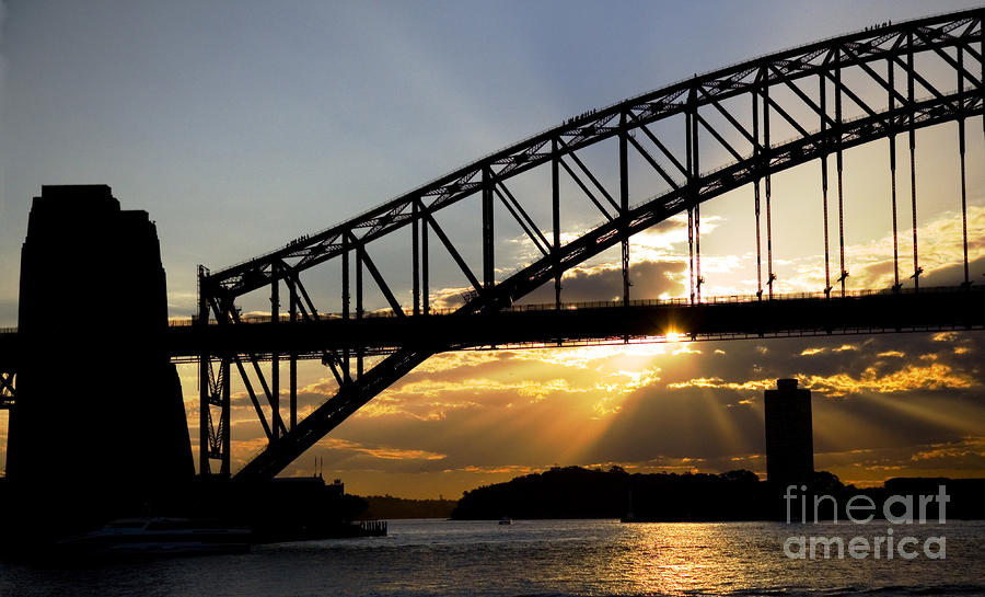 Sydney Harbour Sunset Photograph