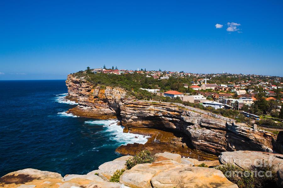 Sydney Sandstone Clifftop Photograph