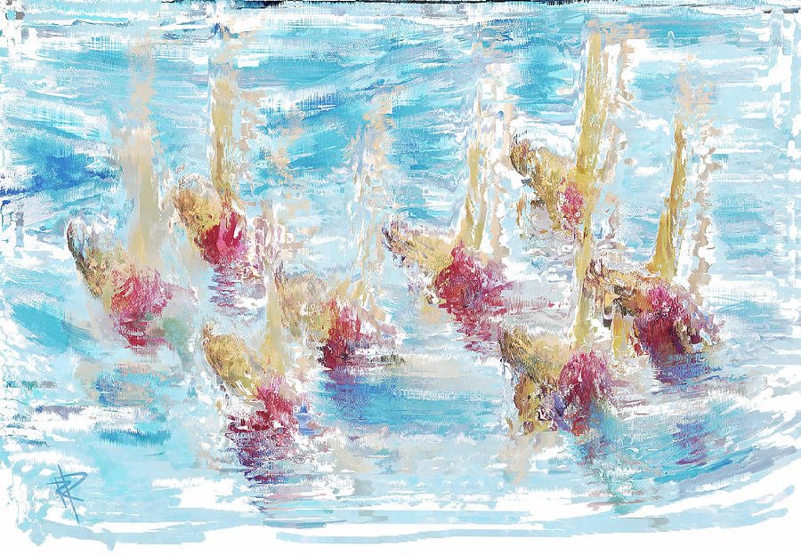 Sync Or Swim Mixed Media
