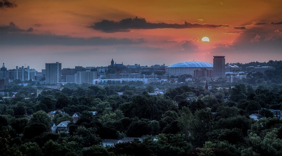 Syracuse Sunrise Photograph  - Syracuse Sunrise Fine Art Print