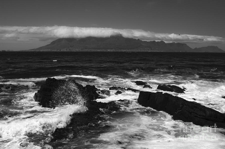 Table Mountain Cloud  Photograph  - Table Mountain Cloud  Fine Art Print
