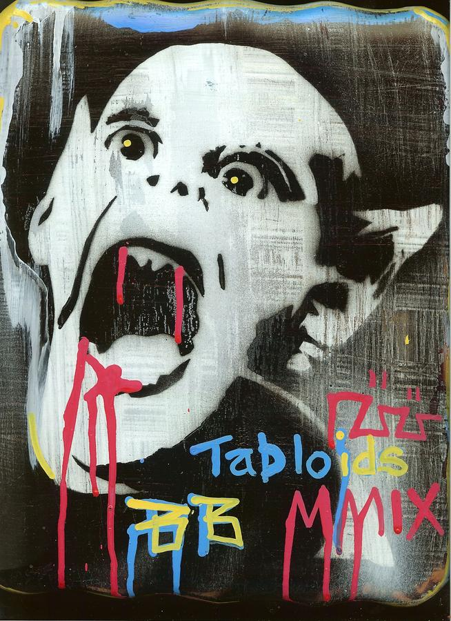 Tabloids Painting  - Tabloids Fine Art Print