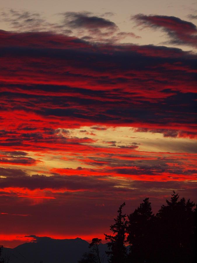 Tacoma Sunset 3 Photograph