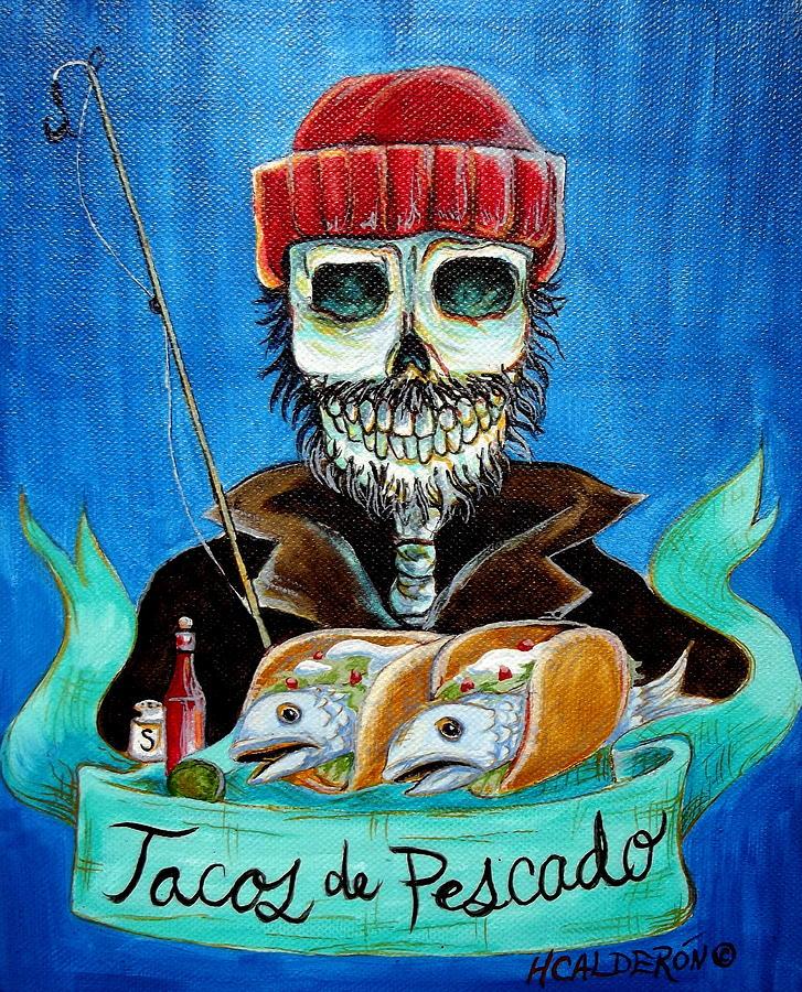 Tacos De Pescado Painting