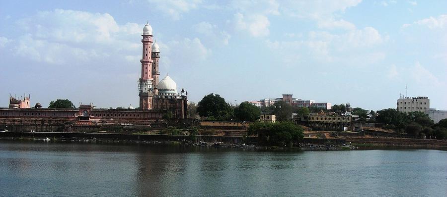 Tajul Masajid Panorama Photograph