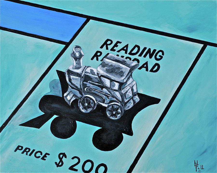 Take A Ride On The Reading  Painting